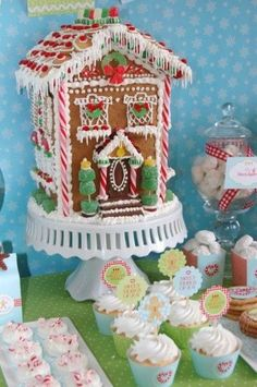 Gingerbread House / christmas xmas ideas - Juxtapost