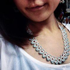 Yuki's mother desiined Necklace.