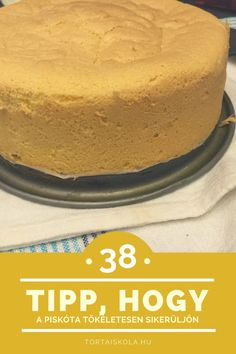 tokeltes-piskota Baking Tips, Vanilla Cake, Food And Drink, Ethnic Recipes, Decorations, Cakes, Cake Makers, Dekoration, Kuchen