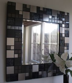 Mosaic mirror - DIY?