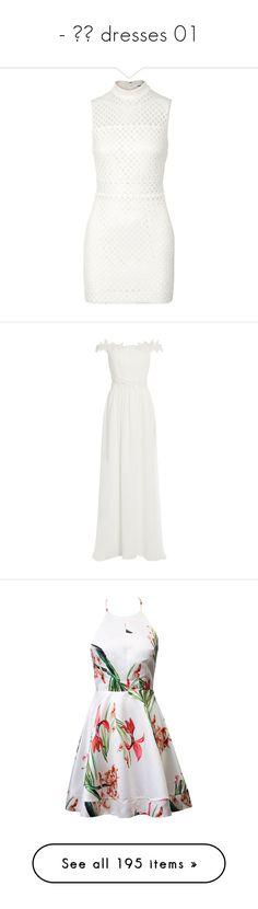 """""""- ̗̀ dresses 01"""" by lxslies-univxrse ❤ liked on Polyvore featuring dresses, white, white colour dress, white day dress, mesh dress, mini dress, lattice dress, women dresses, white sleeveless dress and white color dress"""