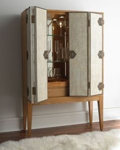 Modern bar cabinet| 10 MODERN CABINETS TO YOUR HOME DESIGN IDEAS_ see more inspiring ideas at http://www.homedesignideas.eu/modern-cabinets-home-design-ideas/