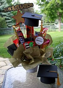 One Scrap at a Time: For the Grad!! - Party Decor