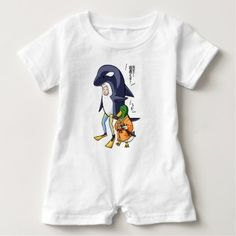 #teacher - #It is turn! Duck teacher! English story Kamogawa Baby Romper
