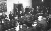 Brezsnyev–Kádár találkozó Budapesten. 1979. május 3.