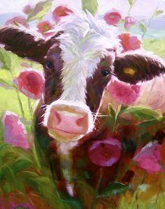 hilda-in-the-hollyhocks-by-elizabeth-perkins.jpg 504×639 pixels