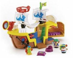 Fisher-Price Little People Lil Pirate Ship