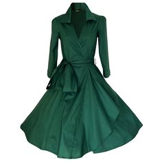 Huada Women's Vintage 1940s Swing Skaters Shirtwaist Flared Tea Party Dress *** You can find out more details at the link of the image. (This is an affiliate link and I receive a commission for the sales)