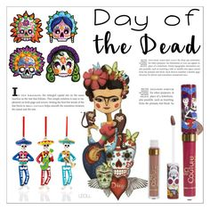 """Day Of The Dead"" by leoll ❤ liked on Polyvore featuring art and Dayofthedead"