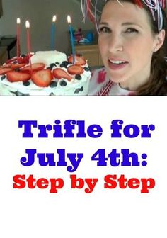 This trifle would be perfect for a Fourth of July party http://thestir.cafemom.com/food_party/157542/fourth_of_july_trifle_how?utm_medium=sm_source=pinterest_content=thestir