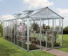 Vitavia Zeus Greenhouse is the new 8ft wide greenhouse with a stable door from Vitavia. Full height 4mm float glass sides and 10mm twin wall polycarbonate roof with 2 roof vents are standard features. From £2139.00  Visit us at Greenhouse Stores http://www.greenhousestores.co.uk/Vitavia-Zeus-Greenhouse/