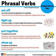 New phrasal verbs
