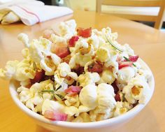 BACON  rosemary kettle corn?! Yes, oh YES!