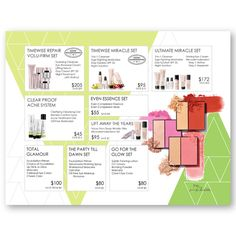 Pop & Glow Placemat to perfectly go with the new Mary Kay products! Customizable sets! Find it on www.thepinkbubble.co!