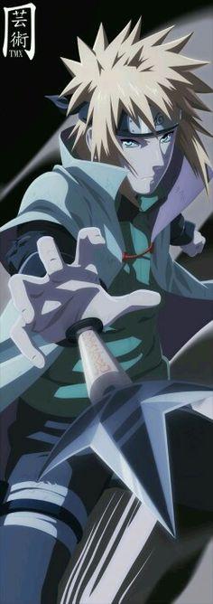 Minato Namikaze / Fourth Hokage - Yellow Flash / Naruto Shippuden ナルト疾風伝 Sasuke Sakura, Naruto Uzumaki, Anime Naruto, Boruto, Manga Anime, Gaara, Anime Guys, Kakashi Hatake, Itachi