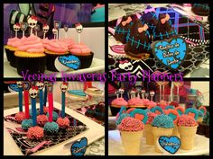 "Photo 14 of 23: Monster High / Birthday ""Cumple Temático Monster High"" 