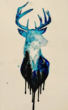 Super Tattoo Ideas Watercolor Pictures 47 Ideas Super Tattoo Ideen Aquarellbilder 47 Ideen The post Super Tattoo Ideen Aquarellbilder 47 Ideen & Tattoo appeared first on Tattoo ideas . Watercolor Pictures, Watercolor Animals, Watercolor Paintings, Tattoo Watercolor, Watercolor Deer, Watercolours, Cute Drawings, Animal Drawings, Art Du Croquis