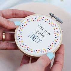 This being fabolous quote would be great as a motherdays gift! Let's make this and give it to your mother! Inspirational Quote Embroidery Hoop Art | Inspirational Quote Hoop Art | Inspirational Hoop Art| Inspirational Embroidery | Fabulous Embroidery | Embroidery Design | Embroidery Inspiration |#embroidery#quote# inspirationalquote#fabulous#ad