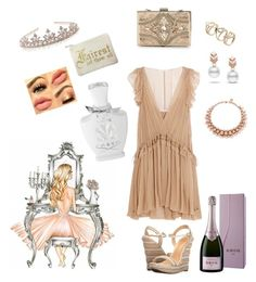"""""""Untitled #26"""" by tonynelvi on Polyvore featuring Schutz, Forever Unique, Chloé, Escalier, Monsoon, Ellen Conde, Creed and Krug"""