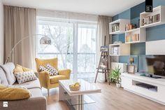 Salon styl Nowoczesny - zdjęcie od PRACOWNIE WNĘTRZ KODO