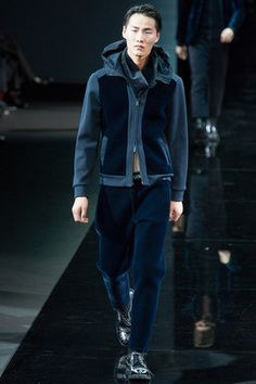 Emporio Armani Fall 2014 Menswear Collection Slideshow on Style.com