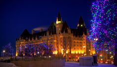 Chateau Laurier hotel in historical-sites in Ontario Ottawa City, Historical Sites, Ontario, Places Ive Been, North America, Beautiful Places, Canada, Travel, Museums