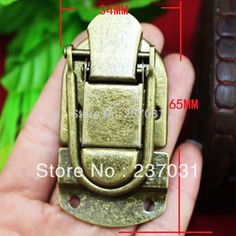 Antique box buckle/archaize buckles/luggage lock/metal buttons in wooden cases-in Handles & Knobs from Home Improvement on Aliexpress.com | Alibaba Group