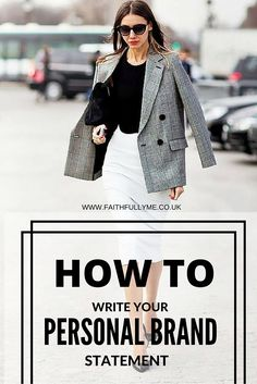 How To Write Your Personal Branding Statement | Personal Branding | Branding Statement | Personal Marketing | Resume Summary Statement | By Lindsay L. Malatji