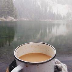 Um caféssito para começar o dia.