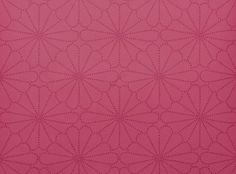 Kenzan Wallpaper Fuchsia - Romo Fabrics