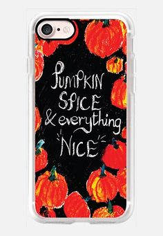CASETiFY iPhone 6 Plus Case - Pumpkin spice and everything nice by Kanika Mathur Iphone 6 Plus Case, Iphone 7 Cases, Drawing Apple, Iphone Camera, Macbook Case, Cute Phone Cases, Apple Products, Pumpkin Spice, Just In Case