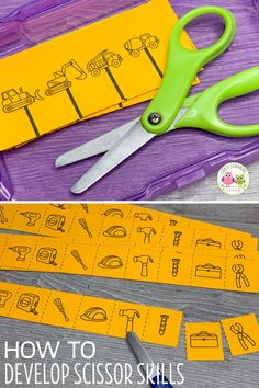 Use these free ocean-themed printables to help your preschoolers work on scissor skills development. Your kids can cutting and snipping with this freebie. Preschool Fine Motor Skills, Motor Skills Activities, Dementia Activities, Fine Motor Skills Development, Scissor Practice, Scissor Skills, Cutting Practice, Occupational Therapy Activities, Physical Activities