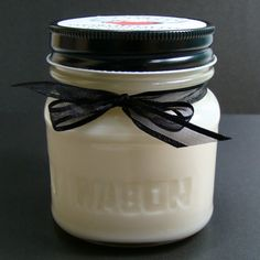Lily of the Valley 8 Ounce Hand Poured Soy Wax Candle by AuntieDis, $8.00