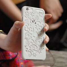 Iphone 6 Case design inspired by beautiful flowers. The design has been prototyped and physically tested to guarantee your Iphone slim fitted in the printed case. 3d Printing Diy, 3d Printing Service, 3d Printer Models, Iphone 6, Iphone Cases, 3d Printer Designs, 3d Prints, Diy Design, Beautiful Flowers