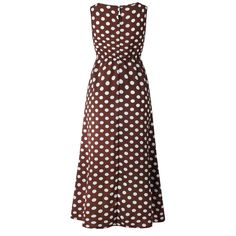 Size Chart Size Length Bust Waist cm inch cm inch cm inch S 135 90 M 136 95 L 137 100 XL 138 105 Details Material:Polyester Pattern Type:Polka Dots Sleeve Type:Sleeveless Style:Casual,Holiday Neckline:Round Neck Decoration:P Maxi Dress With Sleeves, Tank Dress, Dress Shirts, Plus Size Dresses, Dresses For Sale, Casual Dresses, Summer Dresses, Mini Dresses, Bride Dresses