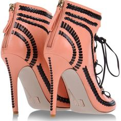 Shop Women's Daniele Michetti Boots on Lyst. Track over 38 Daniele Michetti Boots for stock and sale updates. Heeled Boots, Ankle Boots, Shoes Heels, Pumps, Sexy High Heels, Christian Louboutin, Peep Toe, Pink, Salmon