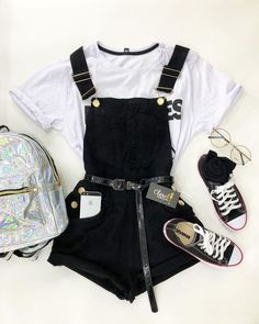 Cute Swag Outfits, Cute Comfy Outfits, Edgy Outfits, Cute Summer Outfits, Retro Outfits, Grunge Outfits, Teenage Girl Outfits, Teen Fashion Outfits, Teenager Outfits