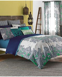 """Some of you have to get in on this: Frenti """"Multi"""" Duvet & Sham Coordinates"""