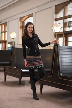 Icelandic Design Serena skirt and Portia Vest
