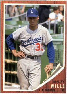 Maury Wills Los Angeles Dodgers