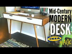 Image result for ikea mid century desk
