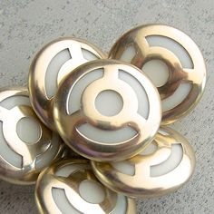 Minimalist NOS 1920s Buttons 78 inch 22mm Modernist Black Wooden Set of 12 Vintage Art Deco Buttons NOS