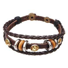 Multilayer wrap genuine leather crystal bracelet for women men bracelets on ebay #3 #sisters #bracelets #bracelets #i #love #doobies #bracelets #s #fabriquer #bracelets #zox