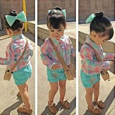 Cute lil girl outfit.