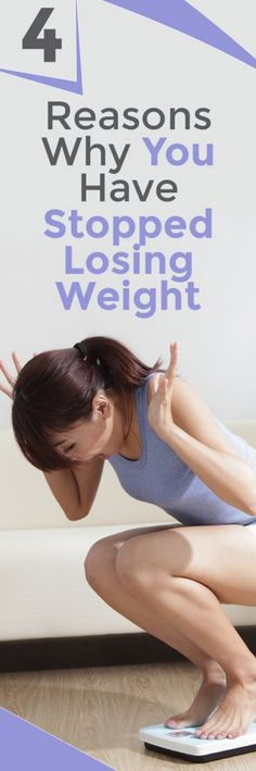 4 Reasons Why You Have Stopped Losing Weight