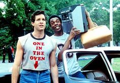 Young Steve Guttenberg in police academy.. His character is beautiful and funny. What more could a girl want?