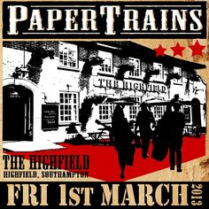 Come n' join us for our 1st gig at 'The Highfield', Southampton, this Friday (1st March), where we'll be pickin' our way through some modern Americana classics! 9pm start. Free entry.