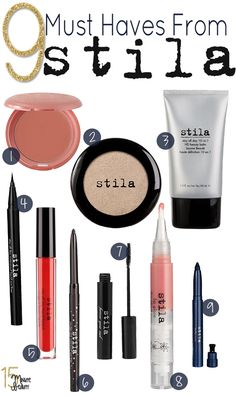 Best Makeup from Stila thank you for the lovely spotlight 15minutebeauty!