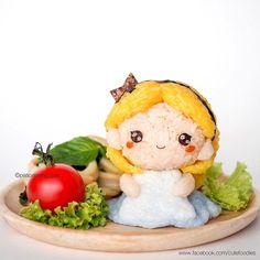 ● Alice in yummy wonderland 💕 - Cute food Food Art For Kids, Cute Food Art, Food Crafts, Diy Food, Kawaii Cooking, Bento Kids, Cute Bento Boxes, Kawaii Bento, Japanese Dishes