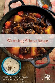 Delicious, hearty and easier to make than you might think, this Hungarian style of goulash is the perfect dinner. Grab your stockpot and ladle out comfort in a bowl. Soup Recipes, Recipies, Cooking Recipes, Viking Kitchen, Winter Soups, Goulash, Other Recipes, Pot Roast, Hungary